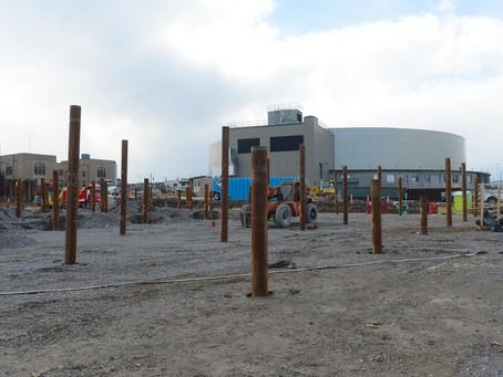 Construction Progress 3/04