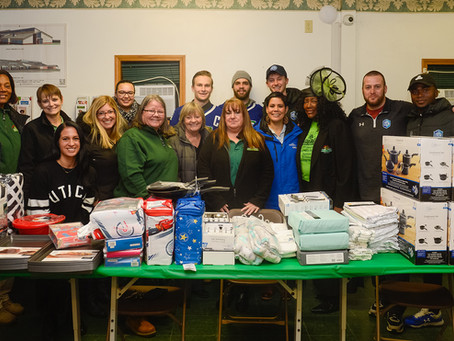 Cree, Inc. and Comets, Utica City Give Back to Johnson Park Center