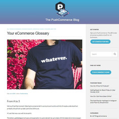Your eCommerce Glossary