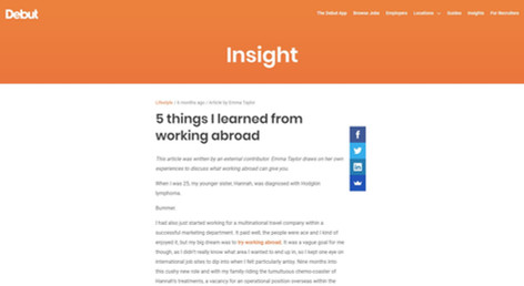 5 Things I Learned From Working Abroad