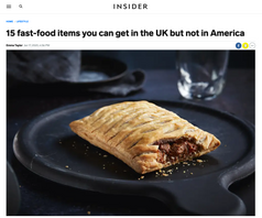 15 fast-food items you can get in the UK but not in America