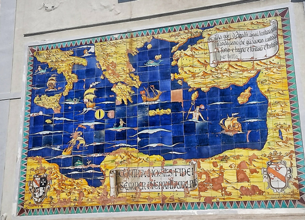 amalfi town map
