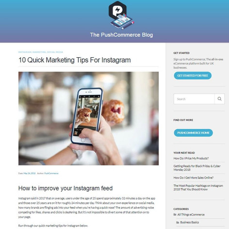 10 Quick Marketing Tips For Instagram
