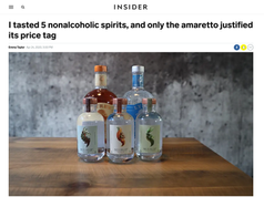 I tasted 5 nonalcoholic spirits, and only the amaretto justified its price tag