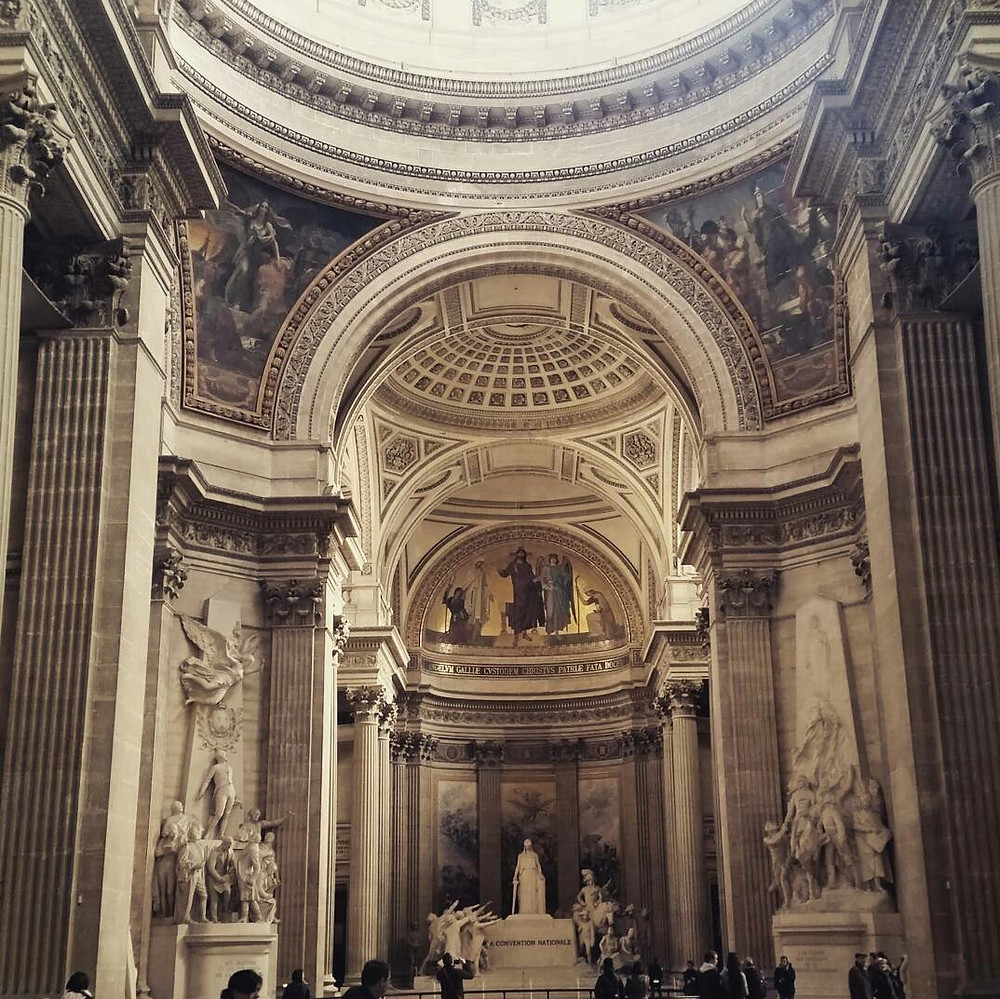 paris pantheon inside
