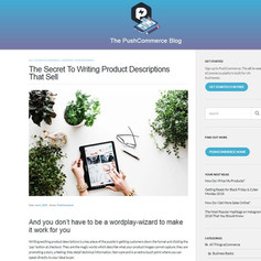 The Secret To Writing Product Descriptions That Sell