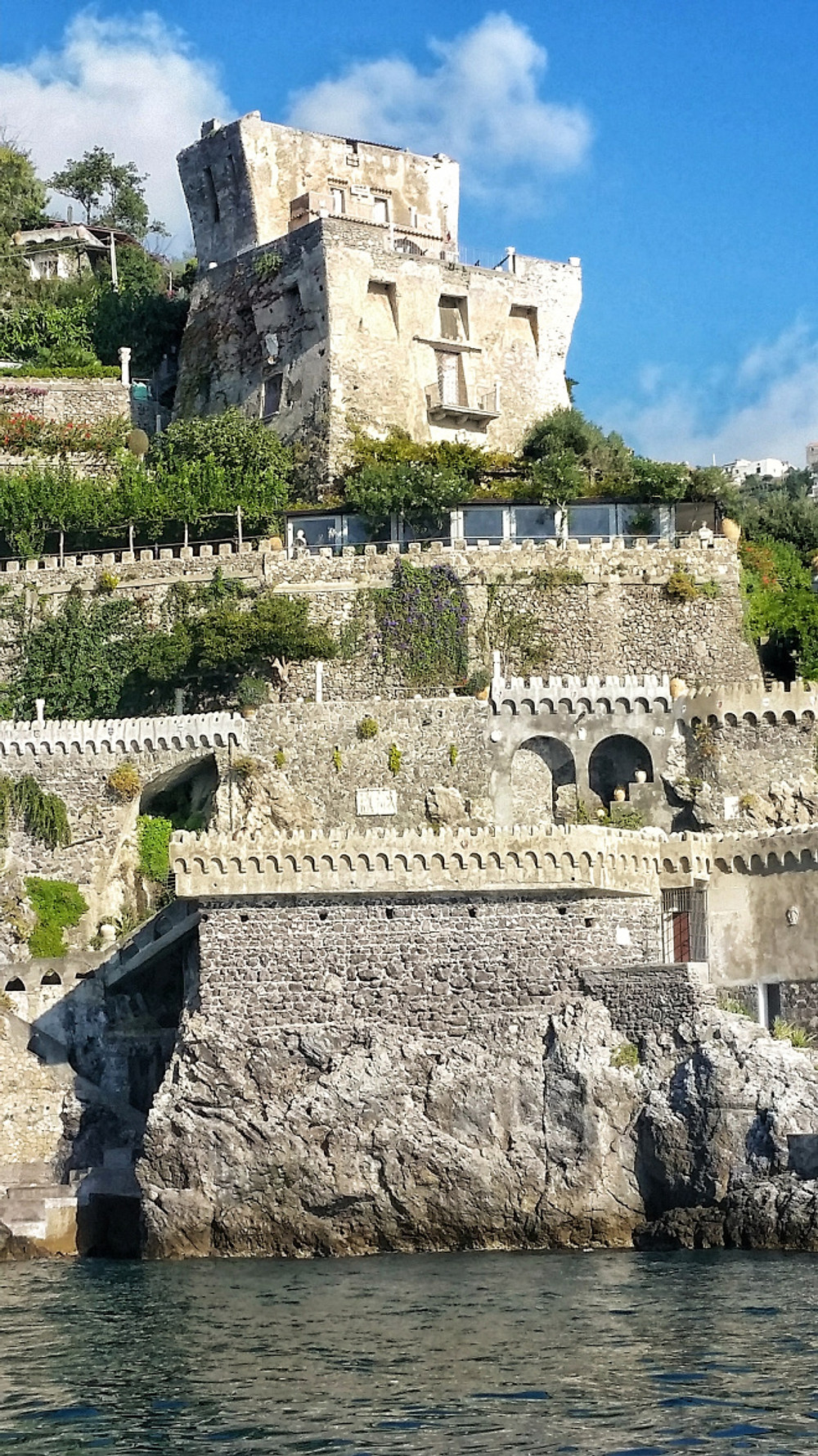 norman fortress amalfi coast