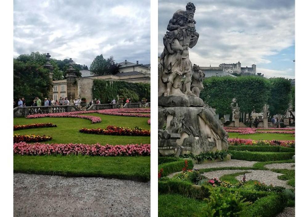 mirabell gardens salzburg city