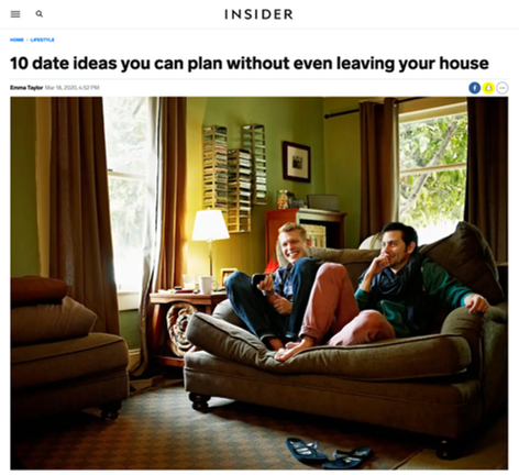 10 date ideas you can plan without even leaving your house