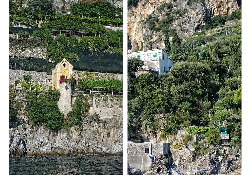 amalfi coast by boat