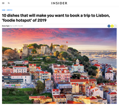10 dishes that will make you want to book a trip to Lisbon, 'foodie hotspot' of 2019