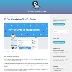 10 Quick Marketing Tips For Twitter