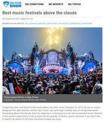 Best Music Festivals Above The Clouds