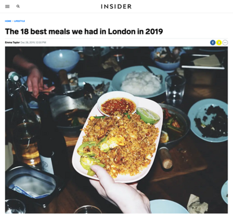 The 18 best meals we had in London in 2019