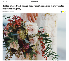 Brides share the 7 things they regret spending money on for their wedding day