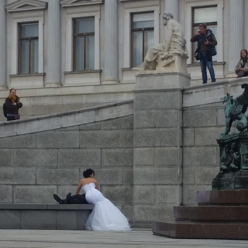Wedding photo Vienna