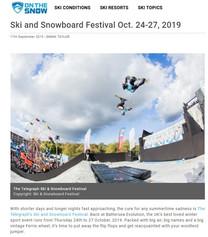 Ski and Snowboard Festival 2019