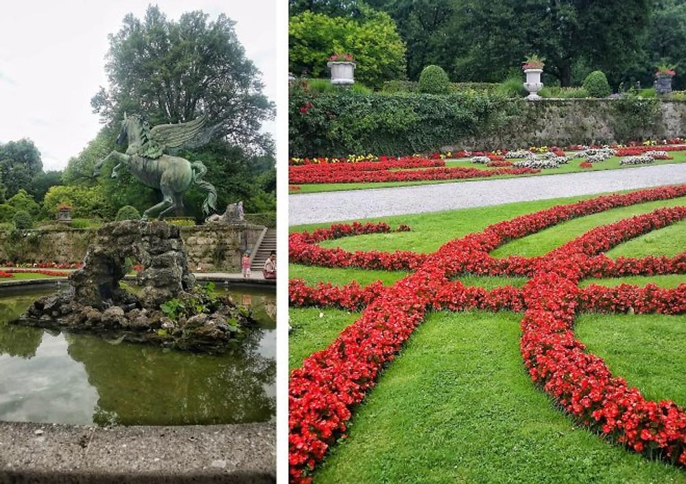 mirabell gardens salzburg free to do