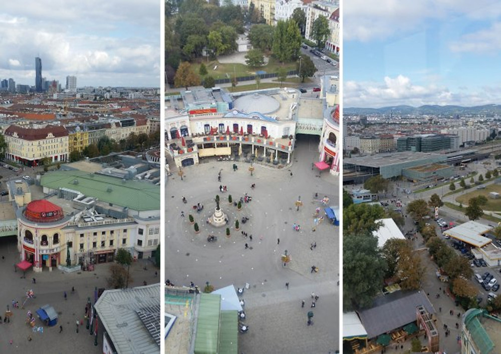 view from prater vienna