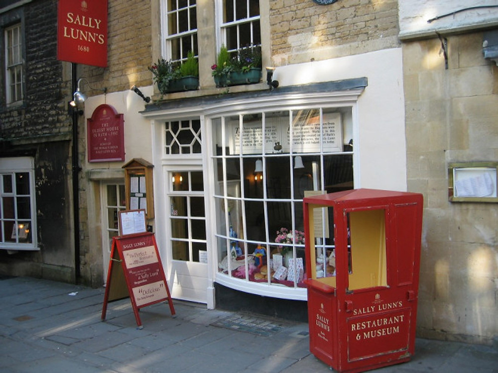 sally lunn bun bath
