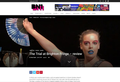 Review – The Trial At Brighton Fringe