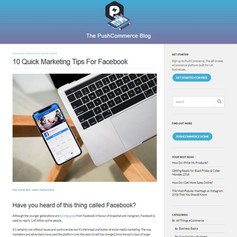 10 Quick Marketing Tips For Facebook