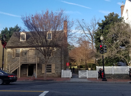 Washington DC's Oldest Structure