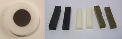 Disk and bar samples