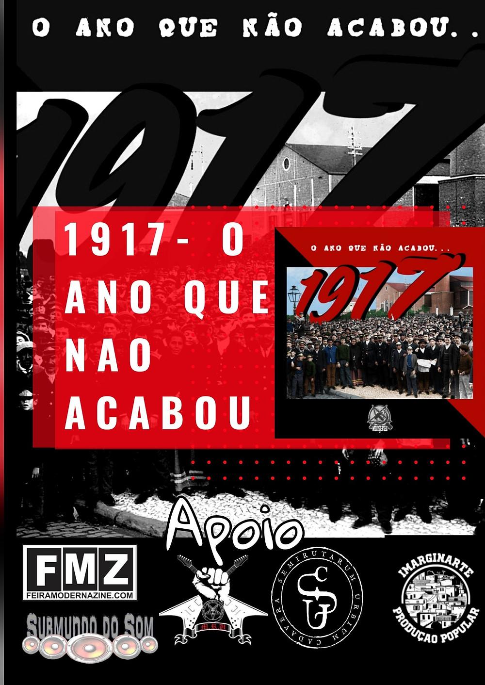 Será disponibilizada em breve a coletânea 1917: O Ano que Não Acabou.