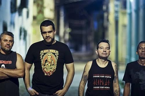 A banda Delinquentes, de Belém/PA, participa do Lulapalozo 2020.