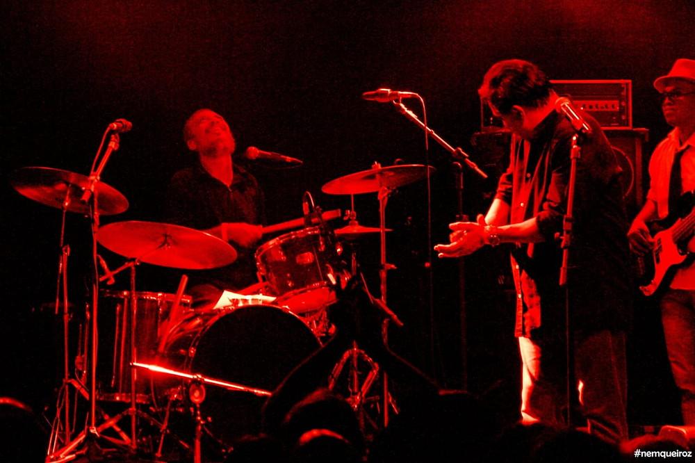 A banda Finis Africae se apresenta na edição 2020 do Caxias Music Festival.