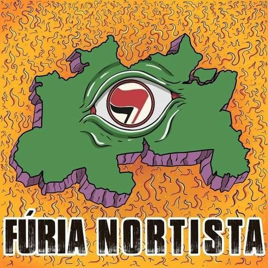 A coletânea Fúria Nortista conta com nomes como Delinquentes (PA), Goela Abaixo (AP), Nova Ordem (AP)...