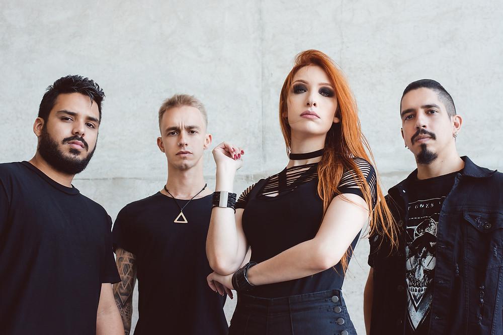 A partir das 19h, a banda carioca de Thrash Metal Hatefulmurder se apresenta direto do HR Studio!