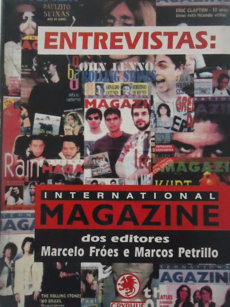Livro Entrevistas: International Magazine.