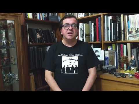 O convidado de logo mais é o jornalista e escritor Arlindo Gonçalves, falando de seu livro Joy Division - Closer: Testamento Musical.