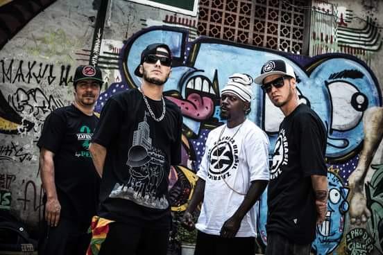 O grupo de Rap Z'África Brasil faz live dia 31!