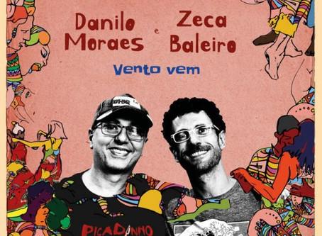 Nos Fones | Danilo Moraes & Picadinho - Vento Vem (part. Zeca Baleiro)