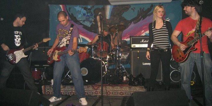 Saulo Andrade com a banda Set-Setters.