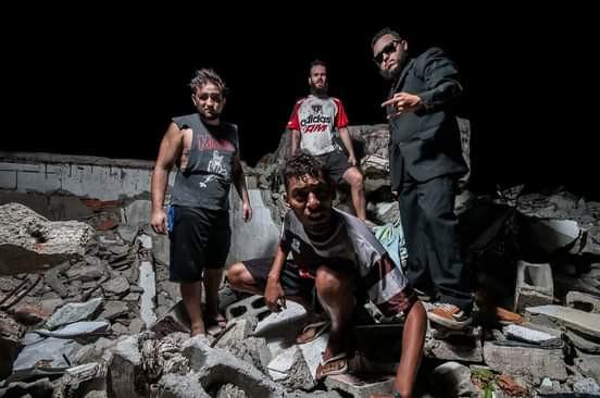 Raul, baterista da banda Gricerina, em live do Reação Underground!