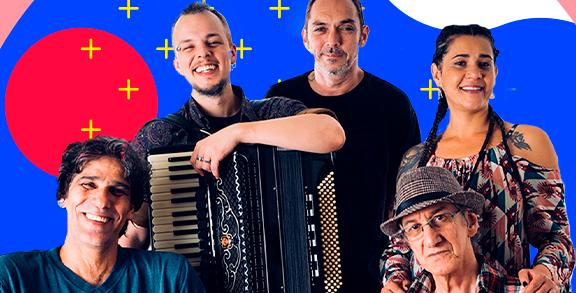 Nesta sexta-feira tem live com a banda Raiz do Sana!