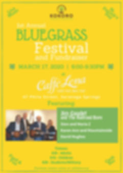 KHF Bluegrass Fundraiser Promotion Flyer