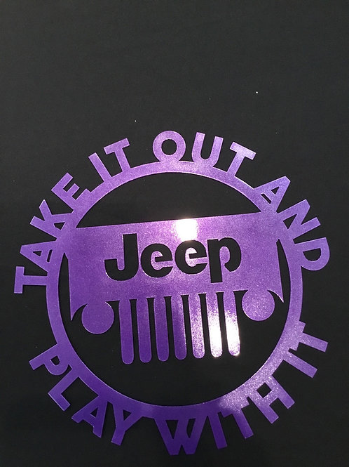 Take It Out & Play With It JEEP