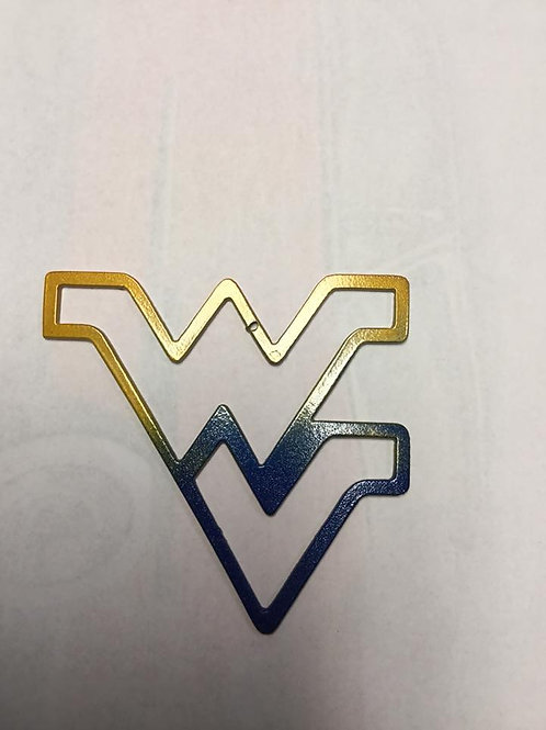 West Virginia Outline Ornament