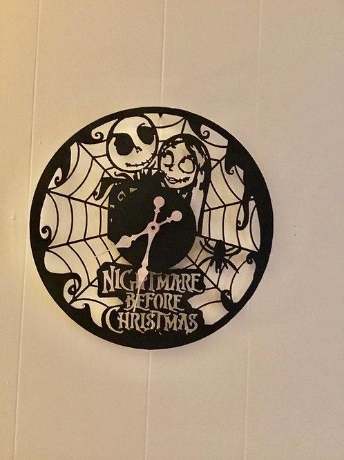 Nightmare Before Christmas Clock