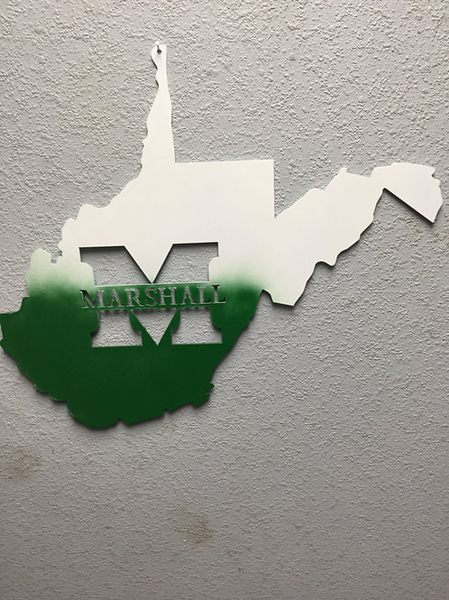 West Virginia with Marshall Name
