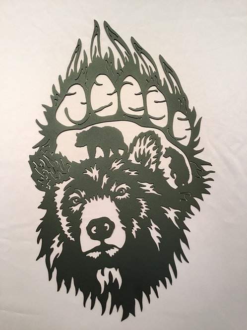 Bear in Paw