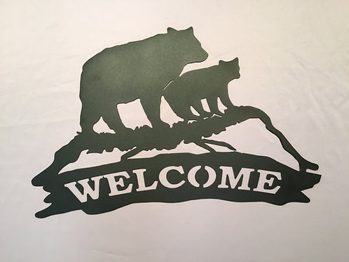 Welcome with Bears