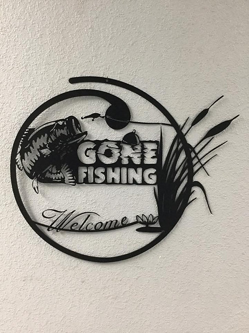 Gone Fishing with Bass, Welcome Sign