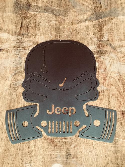 Jeep skull