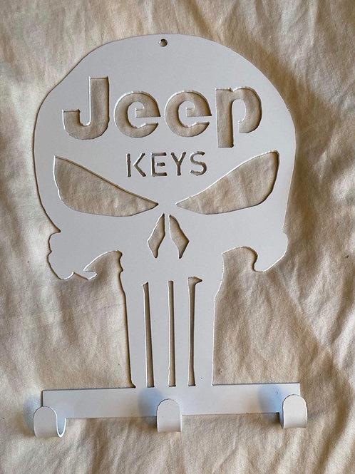 JEEP Keys Skull